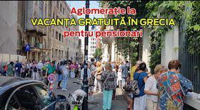 Ce spun pensionarii veniți să prindă un loc în vacanțele gratuite în Grecia