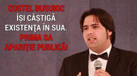 Costel Busuioc își câștigă acum existența în SUA