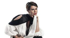 Irina Velcescu a filmat într-un bloc neterminat pentru