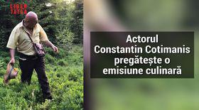 Constantin Cotimanis pregătește o emisiune culinară