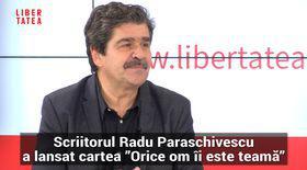 """Radu Paraschivescu a vorbit la Interviurile Libertatea LIVE despre """"limba dăncileză"""""""