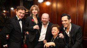 Au rămas liceenii doamnei Tamara Buciuceanu-Botez. Actrița a fost sărbătorită pentru 65 de ani de activitate pe scena de la Teatrul Metropolis