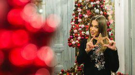 Monica Roșu poartă roșu de Revelion! Îi e dor de Sărbătorile petrecute cu lotul de gimnastică, la Deva