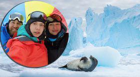 INFOGRAFIE ANIMATĂ cu traseul până în Antarctica al cercetătorilor români