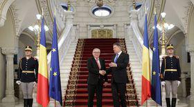 Klaus Iohannis și Jean Claude Juncker, declarații de presă comune