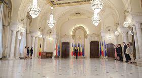 Miniștrii Justiției, Fondurilor Europene și pentru Românii de Pretutindeni au depus jurământul la Cotroceni