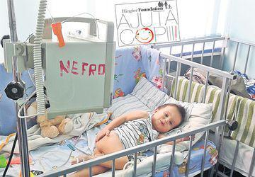 Eduard aşteaptă un transplant de rinichi