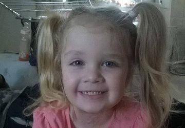 A cincea operație pentru Teodora. Fetița suferă de nev congenital gigant din prima zi de viață și a fost operată în America