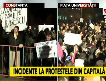 FOTO | A CINCEA ZI DE PROTESTE | Mii de oameni în stradă în Bucureşti, Cluj, Constanţa, Braşov | GALERIE FOTO