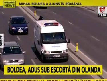 LIVE UPDATE | Boldea va fi dus în arestul IPJ Galaţi. Judecătorii i-au reconfirmat mandatul!