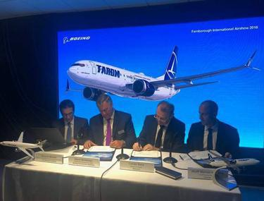 CompaniaTAROM cumpără cinci aeronave Boeing noi
