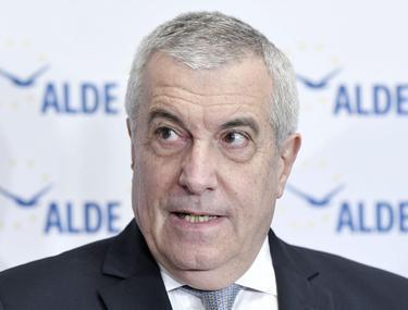 Presedintele ALDE, Calin Popescu-Tariceanu