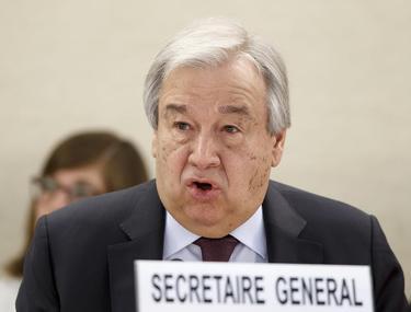 """Secretarul general al ONU avertizează împotriva măsurilor represive: """"Să nu uităm niciodată: ameninţarea este virusul, nu oamenii!"""""""