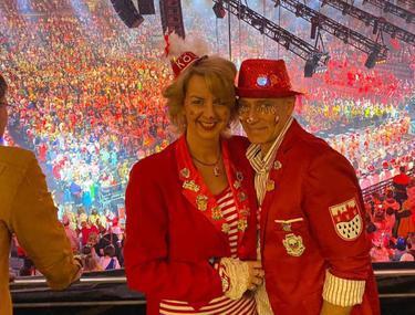 Guio Lazzotta și soția lui s-au numărat printre miile de participanți la evenimentele organizate cu ocazia carnavalului de la Köln. FOTO: Arhivă personală