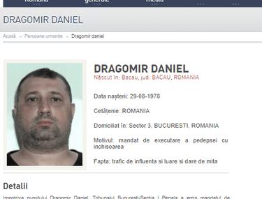 UPDATE | Fostul ofițer SRI Daniel Dragomir ar fi fugit din țară. Poliția l-a dat în urmărire