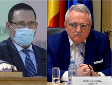 """În timp ce Berbeceanu e numit prefect în București, subprefectul trimis din Capitală la Argeș contribuie la miracolul scăderii epidemiei în județ. """"Vreţi să vă salvez şi-acolo?"""""""