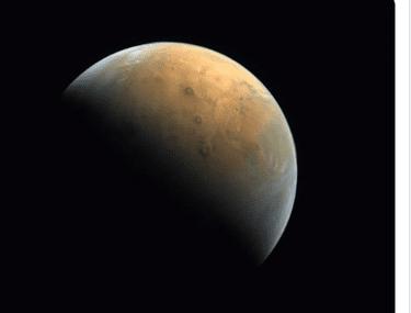 Prima imagine de pe Marte transmisă de sonda spațială arabă Al-Amal