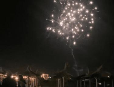 Distracție și artificii în Vama Veche, în primul weekend după relaxarea restricțiilor