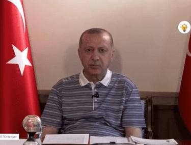 Președintele turc Recep Erdogan a ațipit în timp ce ținea un discurs în fața partidului său