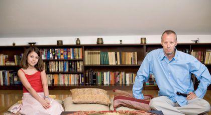 Imagini EXCLUSIVE cu Andrei Gheorghe și fiica lui, Anastasia, din casa în care locuiau împreună