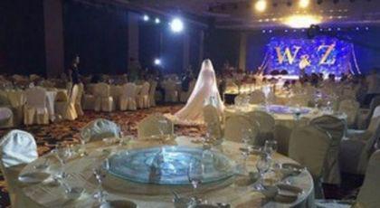Aceasta a fost cea mai tristă nuntă! Mirii au invitat 300 de persoane, dar nu a venit nimeni. Motivul este emoționant