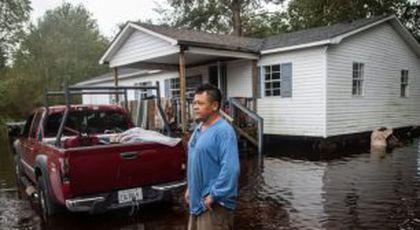 FOTO Imaginile dezastrului » Cum arată SUA după ce a fost lovită de urganul Florence