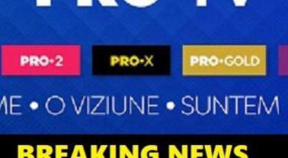O mare vedetă de la PRO TV, ÎN MARE PERICOL! A fost LA UN PAS DE TRAGEDIE, dar a avut zile. Breaking news în media.