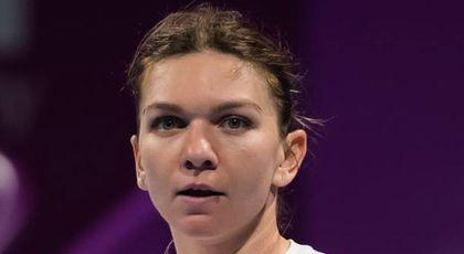 Gest uluitor al Simonei Halep pentru românii din tribune, după ce a pierdut finala de la Doha