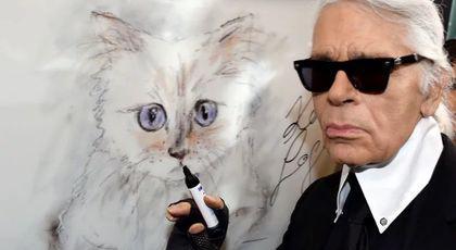 Povestea pisicii care va moșteni averea lui Karl Lagerfeld. Designerul era nedespărțit de Choupette