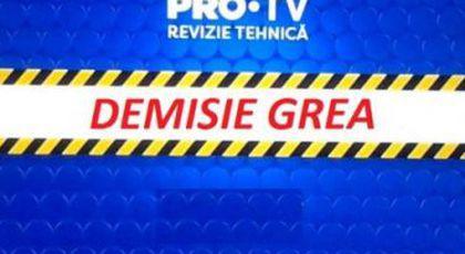 """Demisie grea în PRO TV. Pleacă """"fabrica de făcut bani"""". Breaking news în media."""