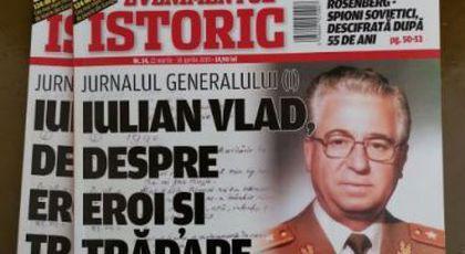 Iulian Vlad, fostul șef al Securității, însemnări din închisoare (ianuarie-august 1990), un document tulburător.