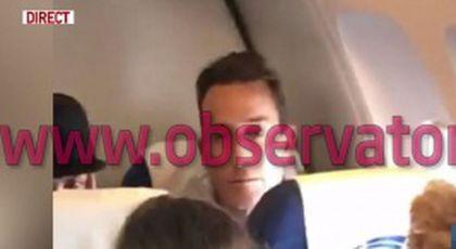 Primele imagini cu Radu Mazăre. A urcat în avion în Franța și este în zbor spre România FOTO