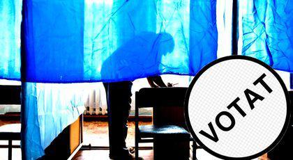 Câți oameni au votat până la orea 14.00? Date OFICIALE