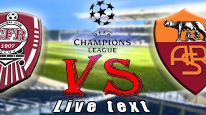CFR Cluj - Roma 1-3