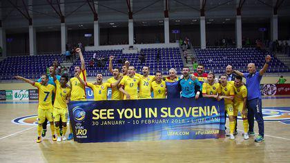 România s-a calificat la Campionatul European de futsal, după 7-4 în returul din Georgia. Brazilienii noștri, la putere! / VIDEO