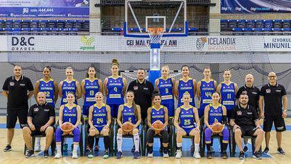 """România - Slovenia, în preliminariile Eurobasket 2019 la feminin. """"Acvilele"""", învinse categoric la Oradea"""