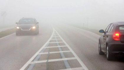 Cod galben de ceaţă, precipitaţii şi polei