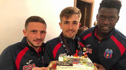 Fotbaliștii de la CSA Steaua o ajută pe Maria. Micuța suferă de tetrapareză spastică