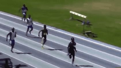 Clarence Munyai, noua senzație a atletismului mondial / VIDEO