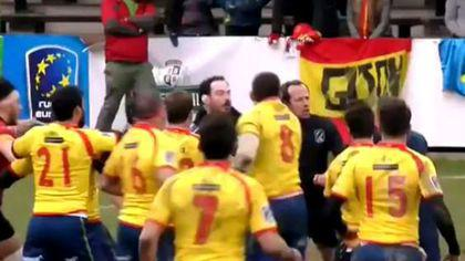 Spania a cerut rejucarea meciului de rugby cu Belgia. Decizia se ia vineri, în Polonia