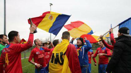 FC România a promovat în liga a opta din Anglia