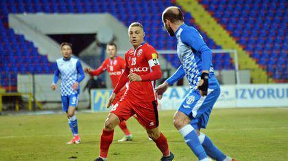 Liga 1, play-out, etapa a 4-a: FC Botoșani - FC Voluntari 1-0. Mihai Roman a făcut diferența