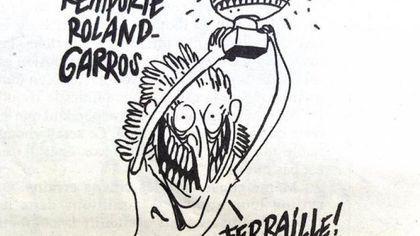 Replica redactorului-şef al Charlie Hebdo la caricatura cu Simona Halep
