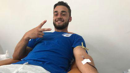 Rugbyștii de la CSM București au donat sânge pentru a-i salva viața atletei Adelina Oancea Gavrilă