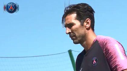Gigi Buffon a beneficiat de o primire incredibilă din partea fanilor celor de la PSG   VIDEO