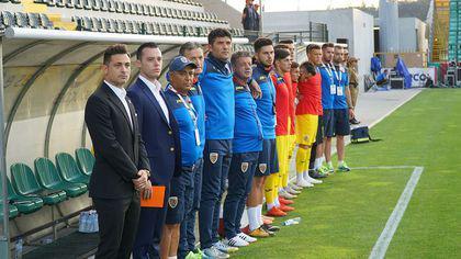Mirel Rădoi, debut cu victorie pe banca naționalei de tineret. Tricolorii au terminat în 9
