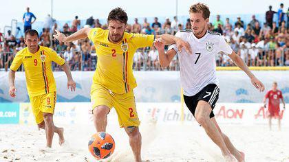 România ratează promovarea în Divizia A din Liga Europeană de fotbal pe plajă, dar merge la Jocurile Europene 2019