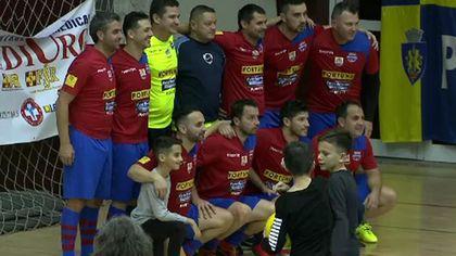 """""""Turneul lupilor 2018"""", la Sala Sporturilor Olimpia din Ploiești. A câștigat Steaua old boys"""