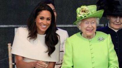 Meghan Markle a făcut-o pe Regină să râdă în hohote și internetul a luat-o razna