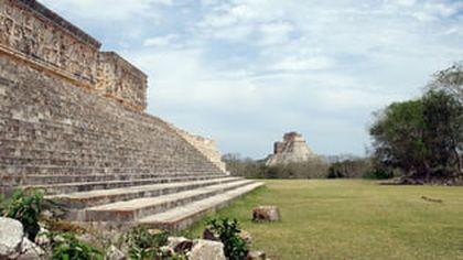 Un cutremur a scos la iveala un templu in interiorul unei vechi piramide